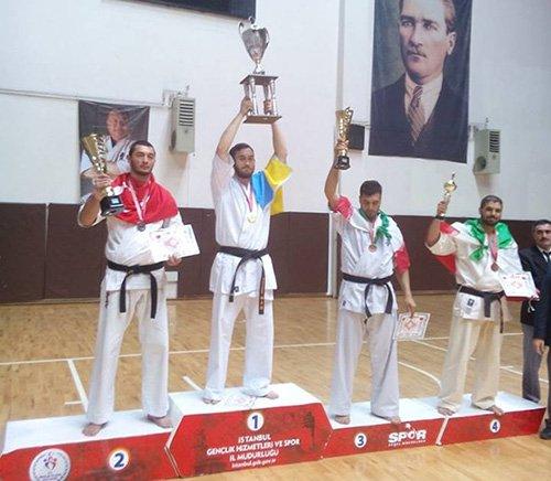Ubirj Андрей победитель турнира в Турции