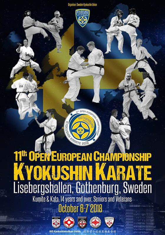 11th Open European Championship Kyokushin Karate.