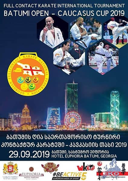 "International Full Contact Karate Tournament ""Batumi Open – Caucasus Cup"""