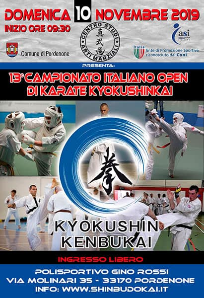 13th Italian Open Kyokushin Tournament (Kenbukai)