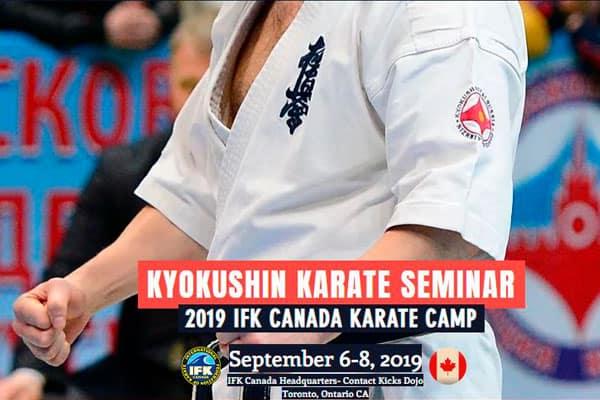 2019 IFK Canada Karate Camp with Shihan Alexey Gorokhov