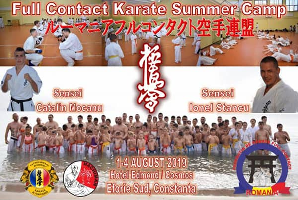 Romanian Full Contact Karate Summer Camp 2019