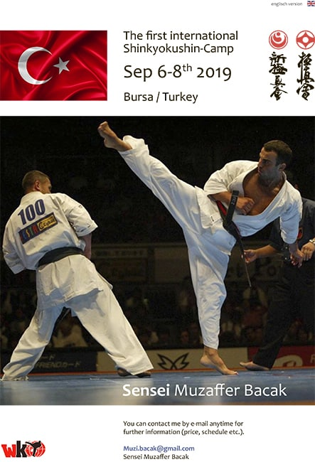 The 1st Turkish camp with Muzaffer Bacak (WKO)