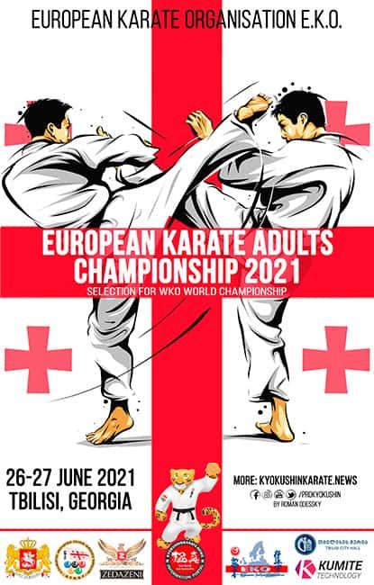 2021 EKO European Karate Championship for adults (WKO)