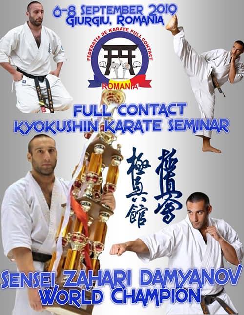 Sensei Zahari Damyanov – Kyokushin Karate Seminar