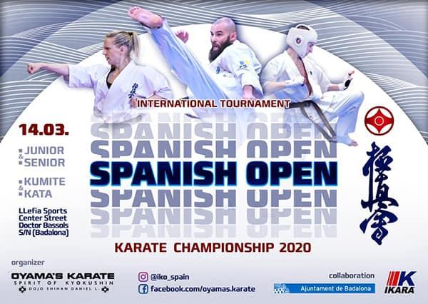 Spanish Open Karate Championship 2020 Kumite & Kata (IKO)