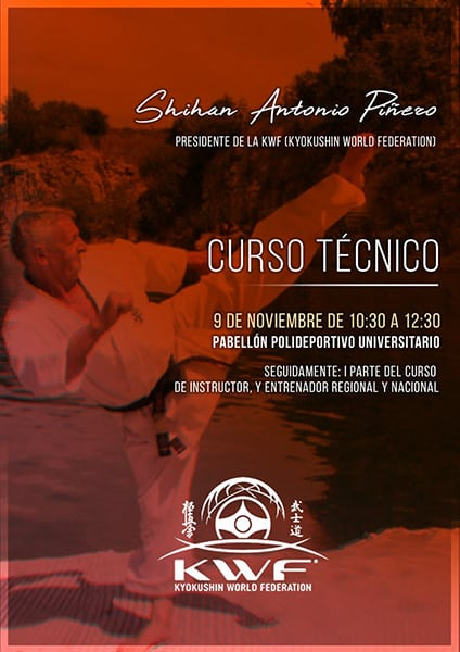 Seminar with Shihan Antonio Pinero (KWF)