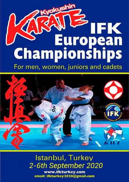7-й чемпионат Европы по киокушин карате (IFK)