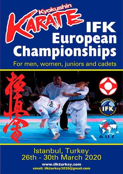 7-й чемпіонат Європи з кіокушин карате (IFK)