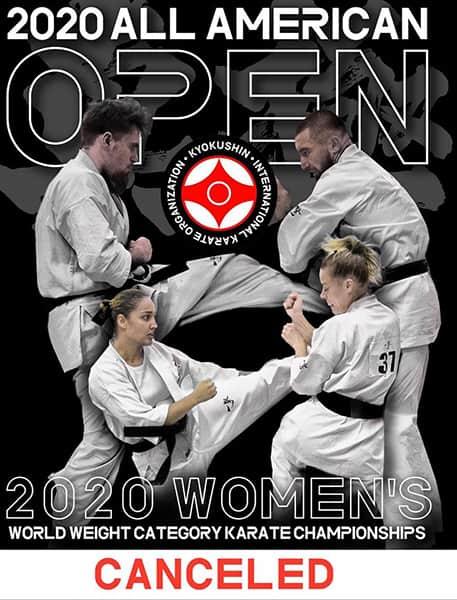 Міжнародний абсолютний чемпіонат «All American Open 2020» (IKO)