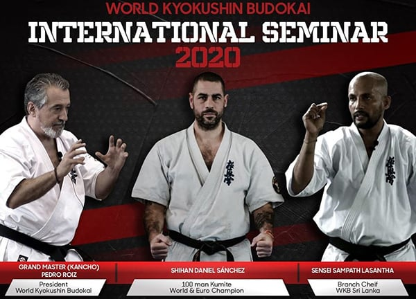 International seminar with Kancho Pedro Roiz & Shihan Daniel Sanchez