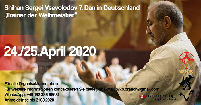 Seminar with Shihan Sergei Vsevolodov in Germany (WKB)