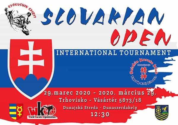 Slovakian Open Tournament 2020 (WKO)