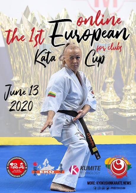 The 1st online European Kata Cup for clubs