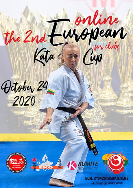 European on-line Karate Kata Championship and European Cup
