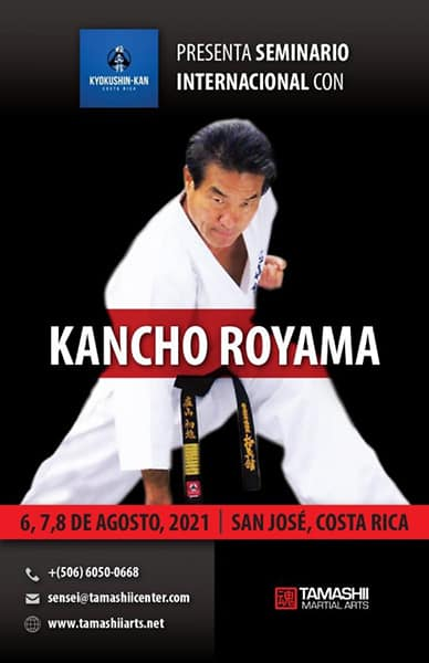 International seminar Kancho Hatsuo Royama in Costa Rica 2021